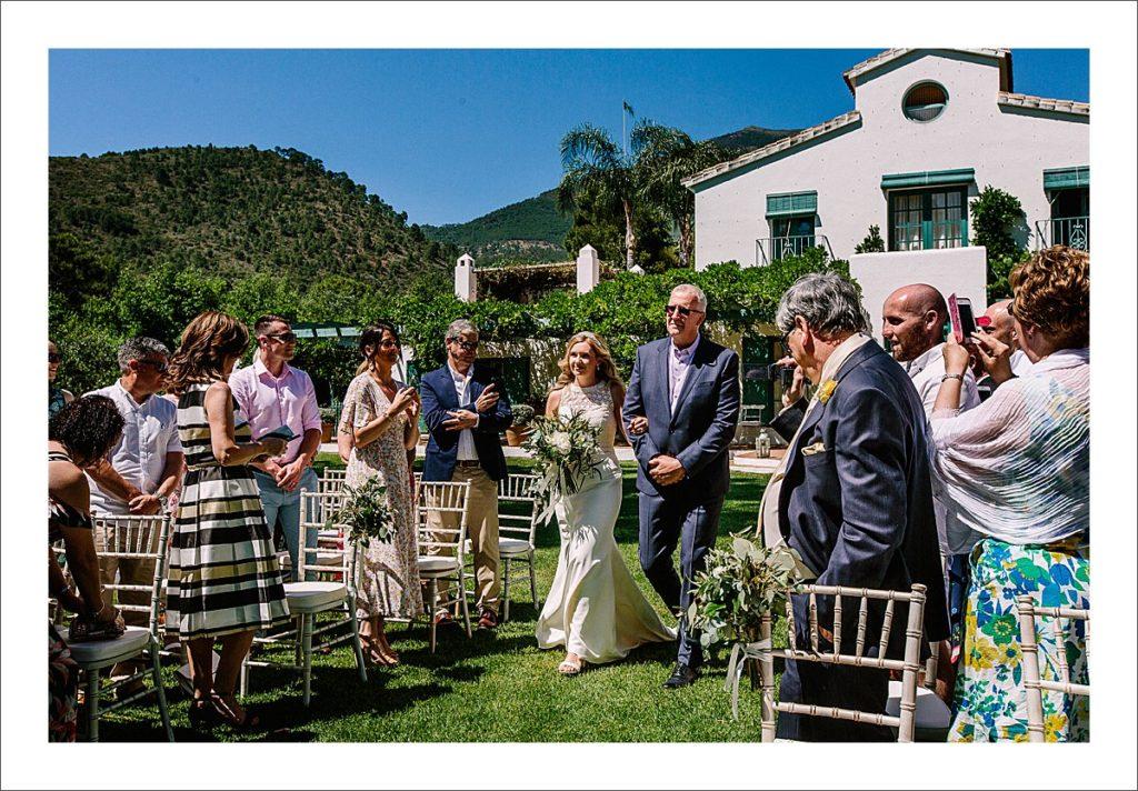casa del rio wedding venue spain