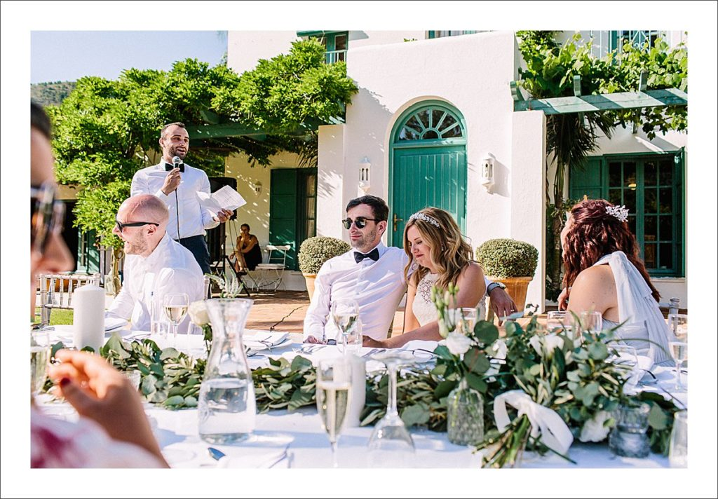 relaxed wedding in Spain