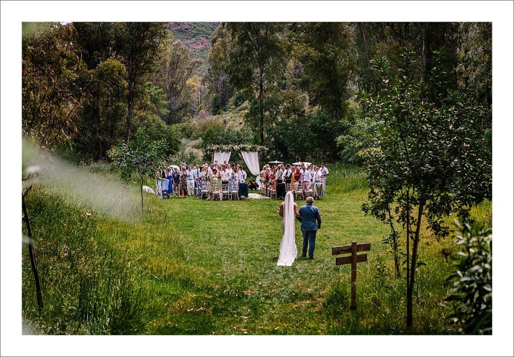 wedding venue Spain Cortijo Rosa Blanca