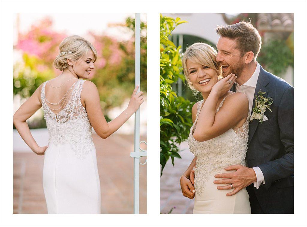 wedding photographer Spain bride and groom portrait
