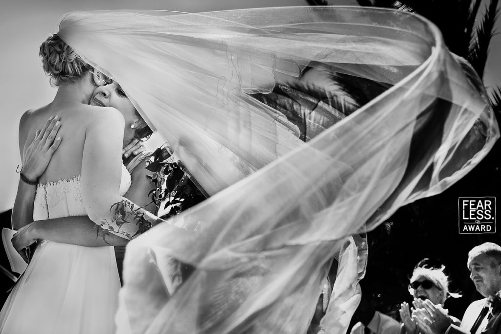 Fearless award winning wedding photographer Spain