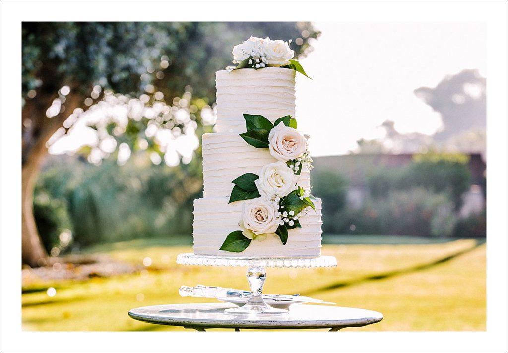 wedding cake Marbella Spain