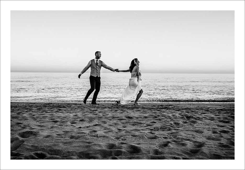 beach wedding Marbella Villa Alicate