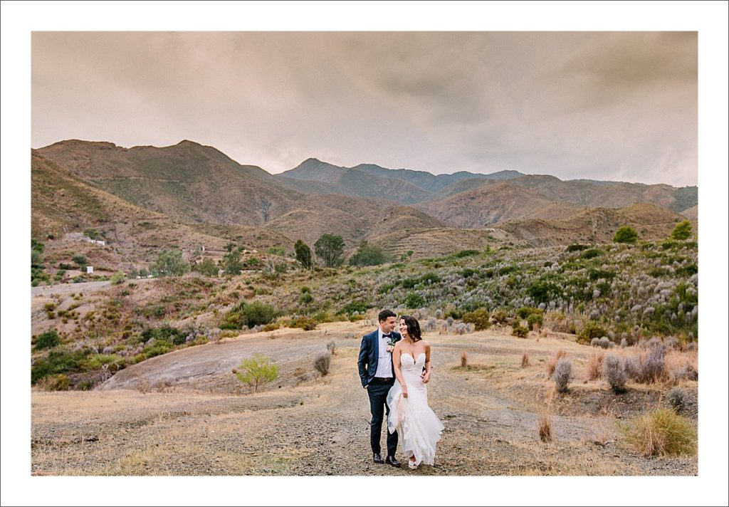 Bride and Groom Portraits on a Cloudy Day Profoto