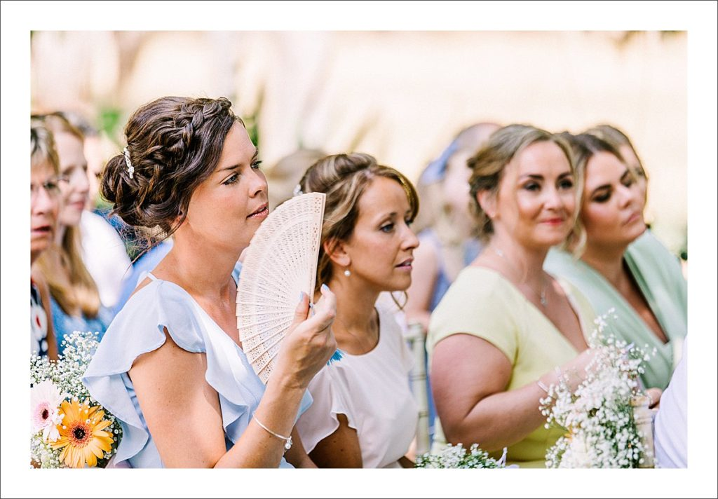 bridesmaids at cortijo de los caballos wedding