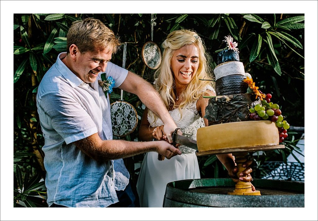 cheese tower wedding cake spain