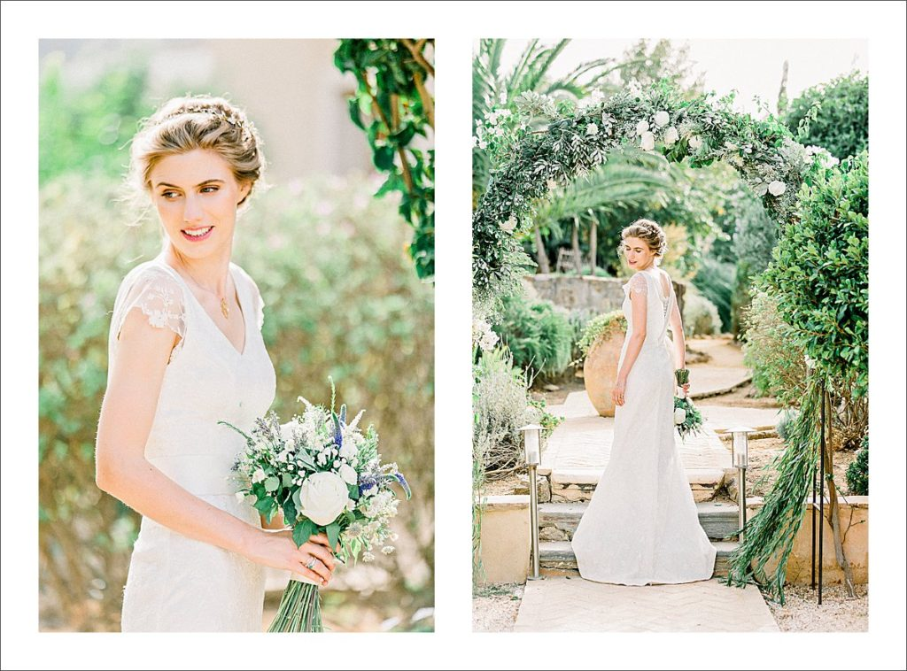 casa la siesta wedding bridal portraits