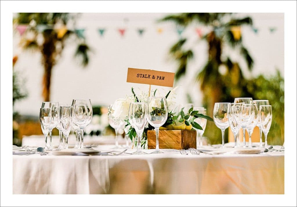 casa la siesta wedding decorations