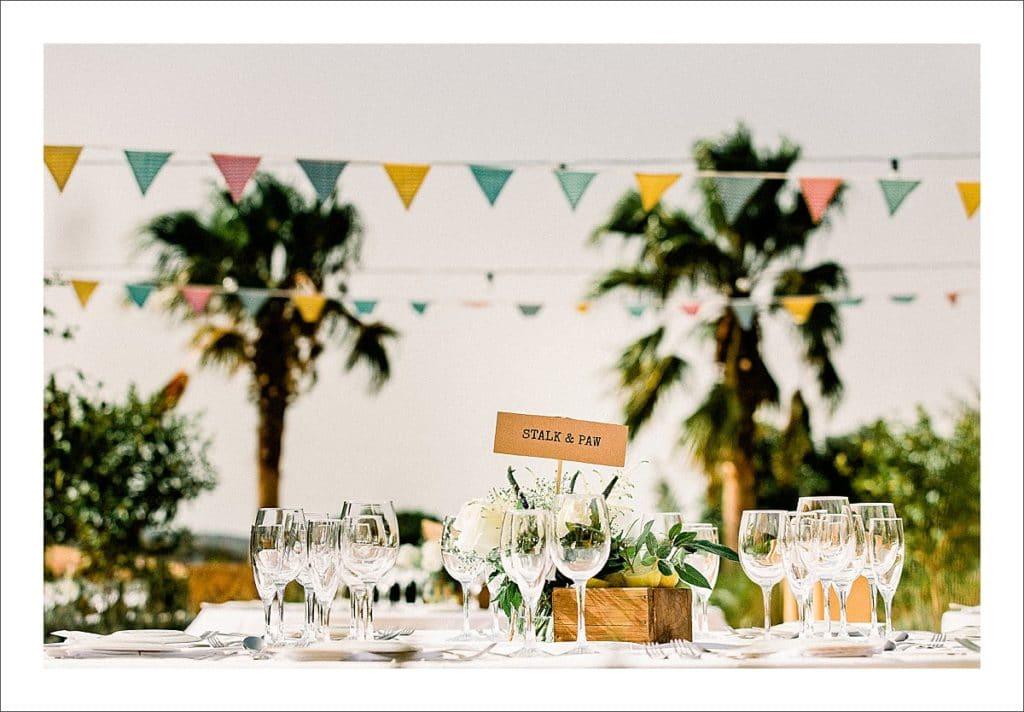 casa la siesta wedding reception