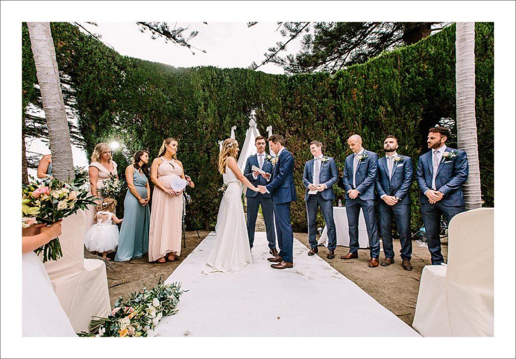 casa de los bates wedding