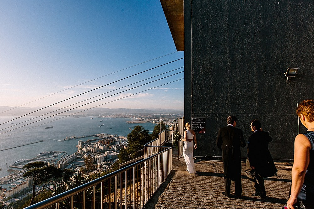 The Rock wedding Gibraltar